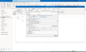 Outlook E-Mails und Mailoptionen