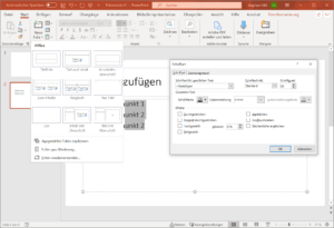 PowerPoint Formatierung Layout