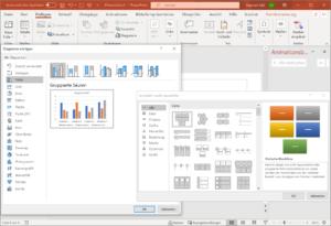 PowerPoint SmartArts und Diagramme