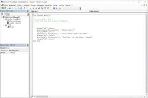 VBA Excel Anpassung eines Makros
